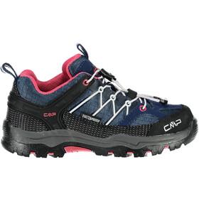 CMP Campagnolo Rigel Low WP Chaussures de trekking Enfant, marine-corallo